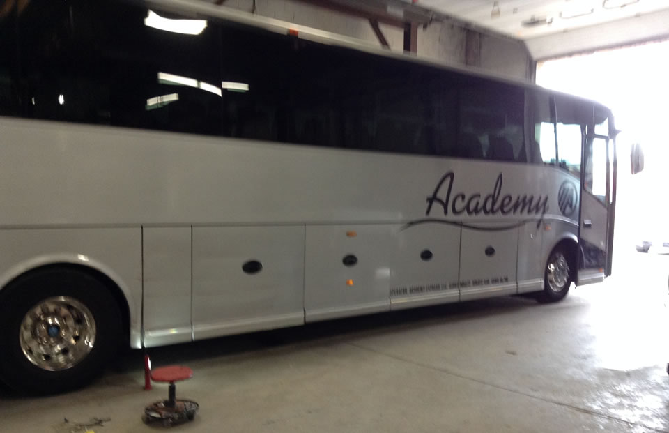 Paint Job for Academy Bus