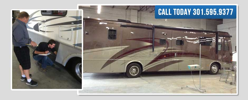 Auto body shop for RVs